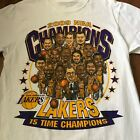 2009 Los Angeles Lakerss Champions Caricature Gildan T Shirt Mens S-4XL DD2500 on Ebay