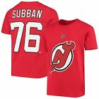 New Jersey Devils PK Subban NHL YOUTH Player Name & Number T-Shirt - NHL Team... $26.9 USD on eBay