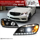 [BUILT-IN LED LOW BEAM] 2008-2011 Mercedes-Benz W204 C