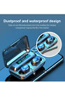 Digital Power Display Rechargeable Bluetooth Earbuds - WLA77523