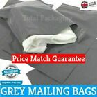 Grey Mailing Bags Poly Mailers 7 x 9 (175mm x 230mm)  Post Mail Postal Envelopes