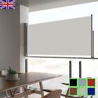 Patio Retractable Side Awning Privacy Screen Canopy Sunshade Privacy Screen