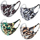 Mouth Cover & Air Permeable for Travel, Daily Use Washable Reusable Fashion Mask