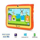 7'' Inch Kids Android 4.4 Tablet PC 8GB Quad Core Dual Camera WiFi 3G HD Phablet