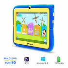 7'' inch Kids Tablet PC HD WiFi 3G Android Pad Quad Core 8GB Dual Camera Phablet