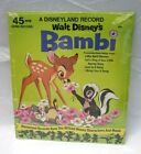 45 RPM Walt Disneyland Song Records All-Sealed ( Choose Record )   - Free Ship -