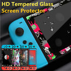 Color Border Tempered Glass Screen Protector Film Cover for Nintendo Switch/Lite