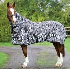"Hy StormX Original Mesh Zebra Print Fly Rug Confuses Biting Insects 4'0""-7'0"""