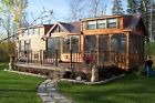 CABIN TINY HOUSE (MANY STYLES) MOVABLE PRE-FAB FOR YOUR LOT/PROPERTY PART. FURN.