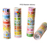 Lovely Cartoon Tape Set Japanese DIY Craft Paper Tape for Decorative Scrapbookin