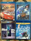 Disney-Pixar-Marvel and more Blu-Rays - Frozen, Toy Story, Avengers, Bond & More