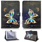 """USA For Onn 7"""" 8"""" 10.1"""" inch Tablet Android Universal Leather Case Pattern Cover"""
