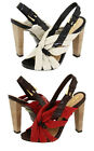 L.A.M.B. GWEN STEFANI TAMIKA SOFT LEATHER STRAPPY SLINGBACK SANDALS I LOVE SHOES