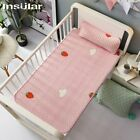 Insular Baby Latex Cool Soft Summer Sleeping Mat Anti-skid Bed Cover with Pillow