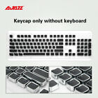 Ajazz AK40S 104 Key Electroplated Punk Key Cap Mechanical Keyboard Steampunk