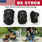 7Pc/Set Kids Teens Elbow Knee Wrist Protective Guard Safety Gear Pads Children image
