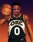 276872 Russell Westbrook OKLAHOMA CITY THUNDER OKC Basketball PRINT POSTER CA on eBay