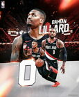 277037 Damian Lillard Portland Trail Blazers NBA Basketball Star PRINT POSTER CA on eBay