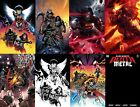 DC DEATH METAL 1 ALL covers ALL Variants MATTINA Snyder CAPULLO LAU sets NOW image