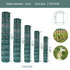 Steel Mesh Fencing Wire Galvanised Square Metal Fence Home Garden PVC