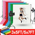 Kyпить Solid Color Screen Studio Background Photo Video Backdrop Stand Photography Kit  на еВаy.соm