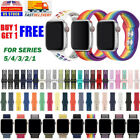 Kyпить Silicone Ruber + Nylon Loop Sport Band For Nike+ Apple Watch iWatch 5 4 3 2 1 на еВаy.соm