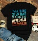 Father's Day Gifts Step Dad Gifts, Step Dad Gifts From Daughter T Shirt Funny