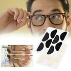 4 Pairs Half Moon Shape Carded Soft Foam Cushion Stick-on -glasses Nose M3m8