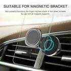 360° Finger Ring Cell Phone Holder Stand Car Metal Magnetic Plate Grips Q5l0