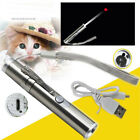 3 in 1 Red Laser Pointer Pen LED Flashlight Presentation Pet Cat Dog Kitten Toy