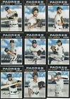 SAN DIEGO PADRES - PICK YOUR MLB-LICENSED TOPPS/BOWMAN TEAM SET 2013-2020