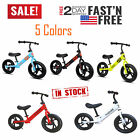 """12"""" Children's Balance Bike No-Pedal Learn to Ride Pre Running Bicycle Kids Gift"""