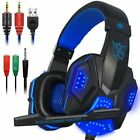 PLEXTONE PC780 Wired LED Gaming Headset w/ Mic For PC XBOX PS4 Switch