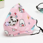 Kids Toddler Child Reusable Cloth Face Mask With Breathing Valve & PM2.5 Filters