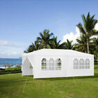 3X3M 3X4M 6X3M White Waterproof Gazebo Marquee Canopy Outdoor Garden Party Tent