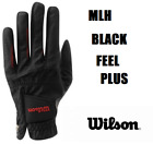 BLACK Wilson Feel Plus Golf Glove Mens Left-Hand glove For Right Handed Golfers