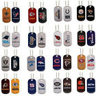 NFL DOG TAG OFFICIAL LICENSED PICK YOUR TEAMS Necklace Pet Tags Necktag $5.89 USD on eBay