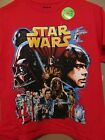 Star Wars Glow In The Dark Kids/Youth Size Red S/S Graphic T-Shirt~NWT~Small/XL $3.5 USD on eBay