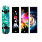 """Waterproof Skateboard Back Deck Sticker Smooth Cover Decoration  9"""" X 33"""" image"""