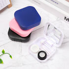 Portable Container Holder Mirror Cover Storage Soaking Box Contact Lens Case