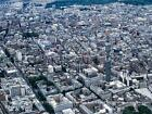 A4 Panoramic View of London c1999 Fitzrovia Westminster & Mayfair