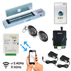 Zemgo Smart Mobile WiFi Controller Access Control  Maglock  Wireless Receiver