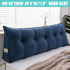 Triangular Headboard Daybed Back Cushion Bed Rest Wedge Reading Pillow Bolster