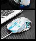Gaming Mouse Wired, 6 Buttons Chroma RGB Backlit 3200 DPI Adjustable Comfortable