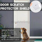 Clear Adhesive Door Scratch Protector Shield Invisible Window Gard Pet Dog