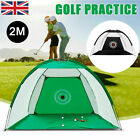 2M Outdoor Supersized Golf Practice Net Driving Chipping Cage Training Aid NetUK