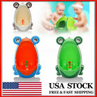 Children Potty Toilet Training Urinal Boys Pee Trainer Cute Frog Shaped US image