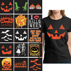 Halloween Costume T shirt Pumpkin Face Shirt Jack o Lantern Shirt Halloween Tops