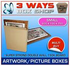 Picture Artwork Mirror Canvas TV Thin Strong Cardboard Box Storage Removal Box