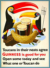 Guinness Is Good For You Vintage Beer Advertising Poster